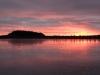 Päikesetõus järvel